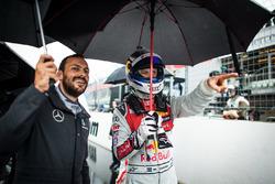 Gary Paffett, Mercedes-AMG Team ART, Mercedes-AMG C63 DTM and Mattias Ekström, Audi Sport Team Abt S