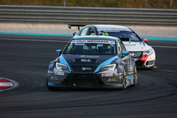 Attila Tassi, Seat Leon, B3 Racing Team Hungary e Kevin Gleason, Honda Civic TCR, West Coast Racing