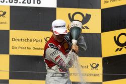 Победитель гонки Маттиас Экстрём, Audi Sport Team Abt Sportsline, Audi A5 DTM