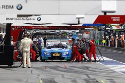 Пит-стоп. Эдоардо Мортара, Audi Sport Team Abt Sportsline, Audi RS 5 DTM