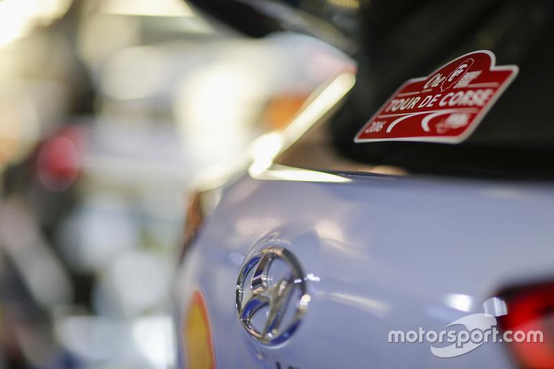 Detail: Hyundai i20 WRC, Hyundai Motorsport