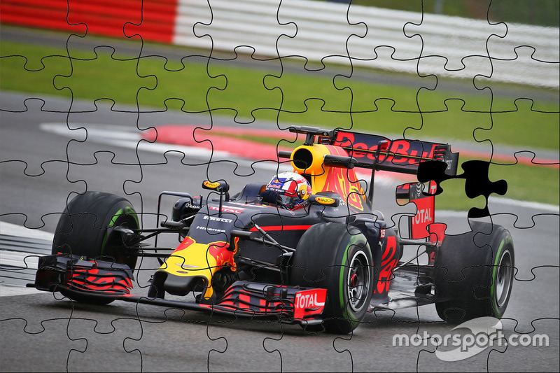 Pierre Gasly, Red Bull Racing RB12, puzzle