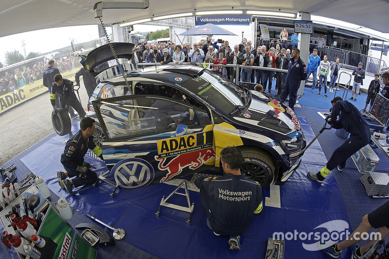 L'auto di Sébastien Ogier, Julien Ingrassia, Volkswagen Polo WRC, Volkswagen Motorsport