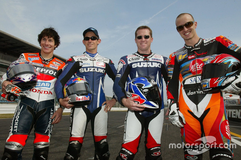 2003: MotoGP debut at Suzuka