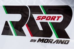 Zone paddock et logo RGR Sport by Morand