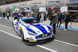 Экипаж #99 Aston Martin Racing Aston Martin Vantage