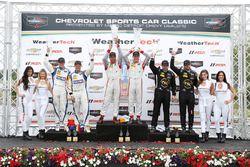 PC podium: winners Renger van der Zande, Alex Popow, second place Colin Braun, Jon Bennett, third place Robert Alon, Tom Kimber-Smith