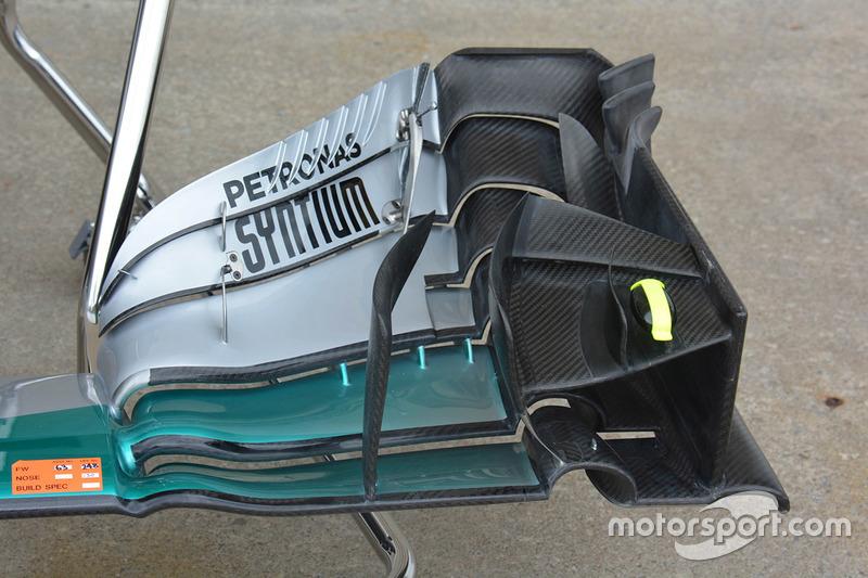 La force de frappe aérodynamique de Mercedes