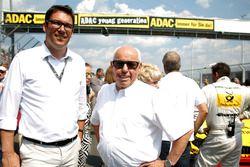 Florian Zitzlsperger and Hans Werner Aufrecht,, Team Chef HWA, ITR President