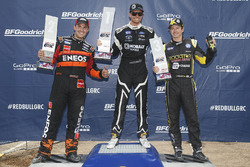 Podium: winner Patrik Sandell, second place Steve Arpin, third place Tanner Foust