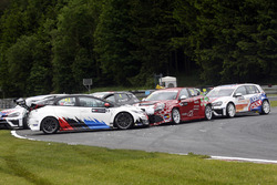 Harald Proczyk, WestCoast Racing, Honda Civic TCR and Petr Fulin, Mulsanne Racing, Alfa Romeo Giulie