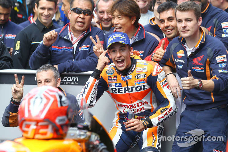 Il secondo classiicato Marc Marquez, Repsol Honda Team