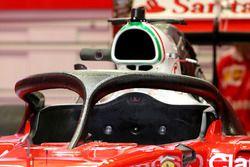 La deuxième version du Halo sur la Ferrari SF16-H