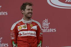Le deuxième, Sebastian Vettel, Scuderia Ferrari