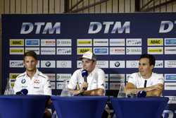 Press Conference: Marco Wittmann, BMW Team RMG, BMW M4 DTM; Jamie Green, Audi Sport Team Rosberg, Au