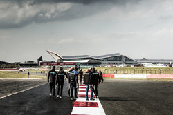 Track walk met het Panis Barthez Competition Team