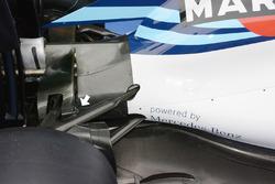 Détails de l'arrière de la Williams FW38