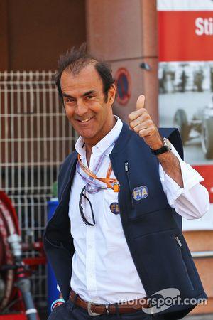 Эмануэле Пирро, стюард FIA