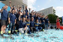Alain Prost, Sébastien Buemi, Jean-Paul Driot, Nicolas Prost, Renault e.dams