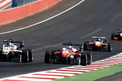 George Russell, HitechGP Dallara F312 – Mercedes-Benz und Nick Cassidy, Prema Powerteam Dallara F312