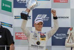 Podium, Maximilian Günther, Prema Powerteam Dallara F312 - Mercedes-Benz