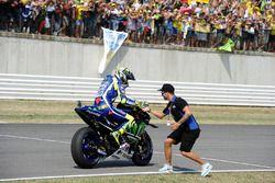 Secondo, Valentino Rossi, Yamaha Factory Racing, Mattia Pasini