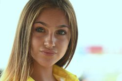 Lovely grid girl
