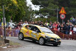 Kevin Gilardoni, Corrado Bonato, Renault Clio R R3T, Movisport