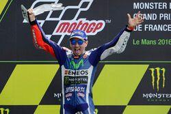 Podium: Ganador, Jorge Lorenzo, Yamaha Factory Racing
