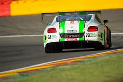 #24 Team Parker Racing, Bentley Continental GT3: Tom Onslow-Cole, Ian Loggie, Callum Macleod, Andy Meyrick