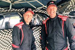 Mikko Hirvonen et Jarmo Lehtinen, Toyota Yaris WRC 2017