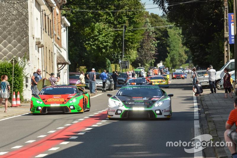 #78 Barwell Motorsport, Lamborghini Huracan GT3: Leo Machitski, Marco Attard, Marco Mapelli, Tom Kimber Smith
