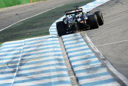 Sergio Pérez, Sahara Force India F1 VJM09 sacando chipas