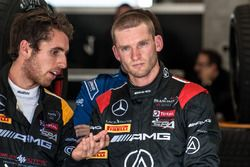 #56 Black Falcon, Mercedes-AMG GT3: Daniel Juncadella; #00 AMG-Team Black Falcon, Mercedes AMG-GT3: