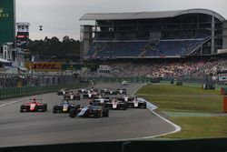 Start of the second GP3