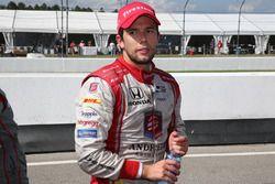 Le 3e Carlos Muñoz, Andretti Autosport Honda