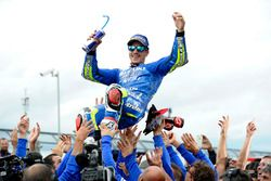 Ganador de la carrera Maverick Viñales, Team Suzuki MotoGP