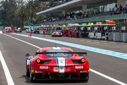 #83 AF Corse Ferrari 458 Italia: Francois Perrodo, Emmanuel Collard, Rui Aguas