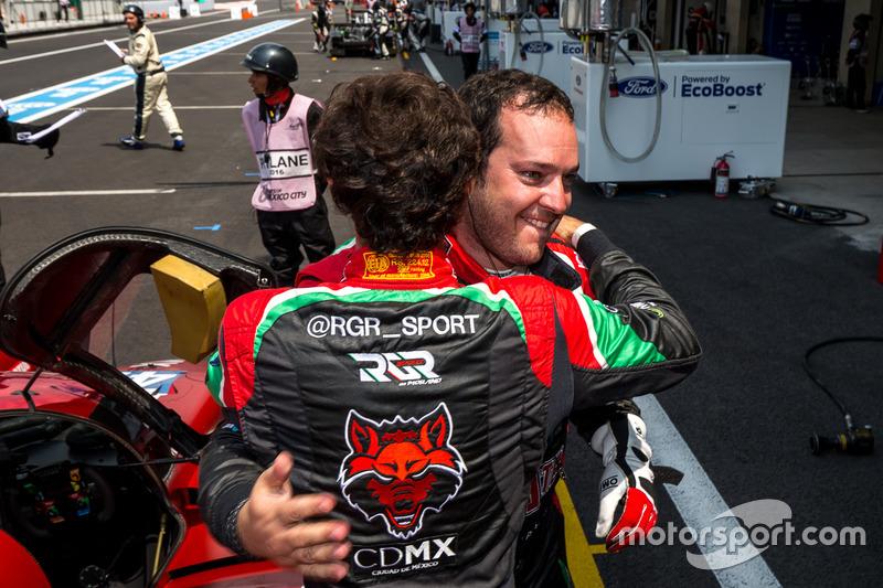 Pole per la #43 RGR Sport by Morand Ligier JSP2 - Nissan: Ricardo Gonzalez, Filipe Albuquerque, Bruno Senna