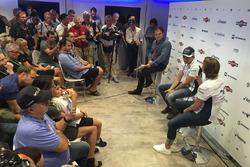 Felipe Massa retire press conference