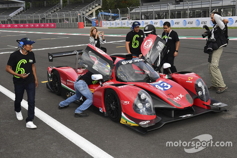 VIP Hot Laps in the RGR Sport by Morand Ligier JSP2 - Nissan