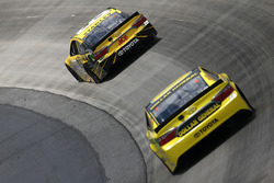 Carl Edwards, Joe Gibbs Racing Toyota, und Matt Kenseth, Joe Gibbs Racing Toyota