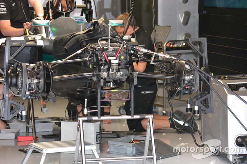 Mercedes AMG F1 Team W07 detail