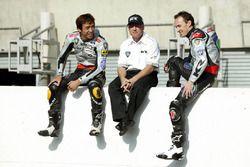 Kenny Roberts, Team principal Proton Team KR, Jeremy McWilliams, Proton Team KR and Nobuatsu Aoki, P