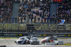 Петтер Сольберг, Volkswagen Polo GTI Supercar, PSRX Volkswagen Sweden, и Андреас Баккеруд, Audi S1 EKS RX quattro, EKS Audi Sport