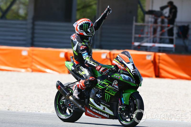 Vainqueur : Jonathan Rea (Kawasaki Racing)