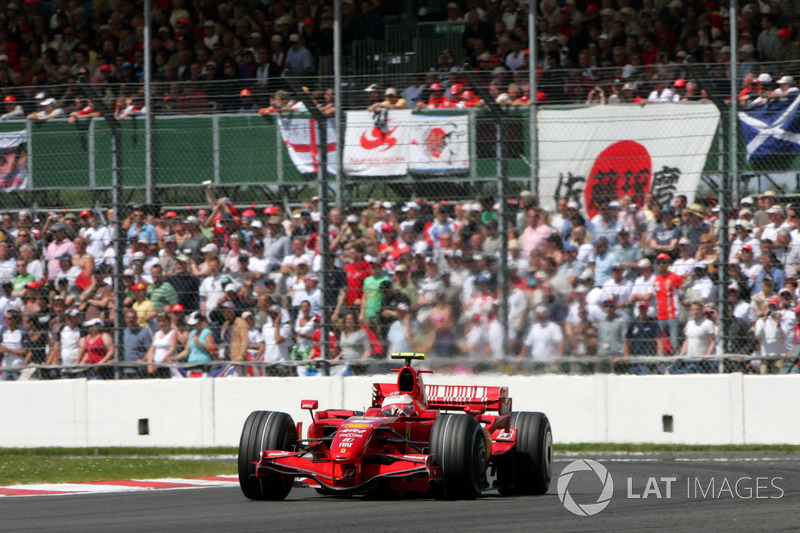 2007: Kimi Raikkonen, Ferrari F2007