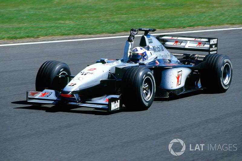 David Coulthard, 2 veces ganador del GP de la Gran Bretaña