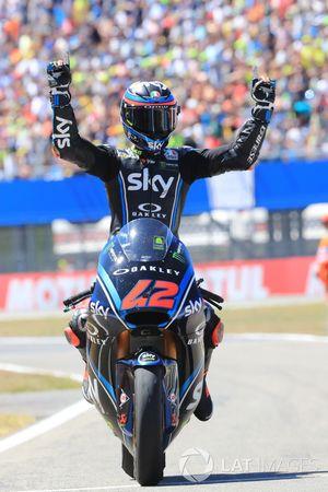 Ganador de la carrera Francesco Bagnaia, Sky Racing Team VR46