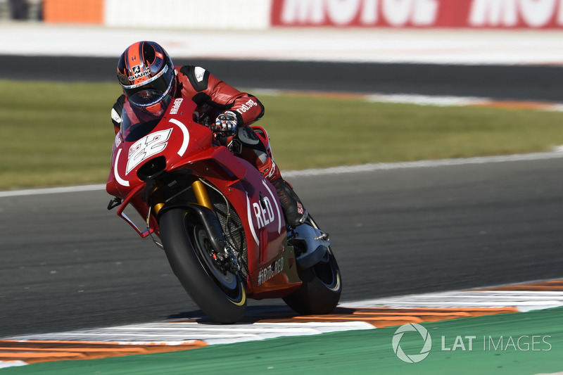 Sturz: Sam Lowes, Aprilia Racing Team Gresini
